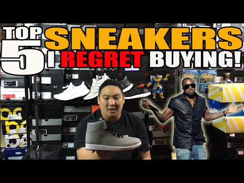TOP 5 SNEAKERS I REGRET BUYING!!!