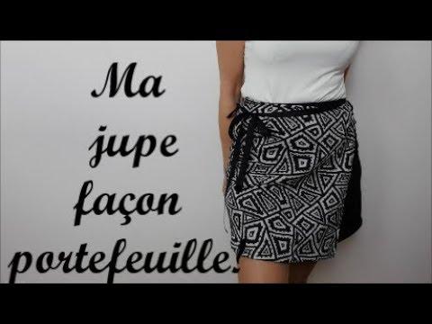 2796dda1520eb4 Diy couture facile : Comment coudre ma jupe portefeuille sans patron !