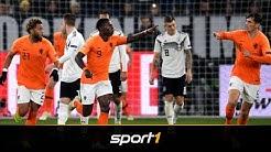 Jetzt auch in der EM-Quali: DFB-Team gegen Niederlande | SPORT1 - DER TAG