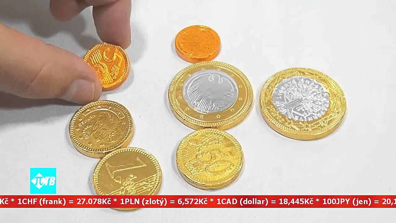 курс валют в обменниках чехии - YouTube