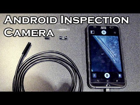 Portable Android Waterproof Inspection Camera