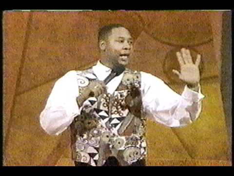 Mark Curry at Apollo Hall of Fame