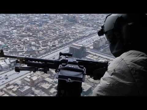 Mi-17 Helicopter Flight in Afghanistan