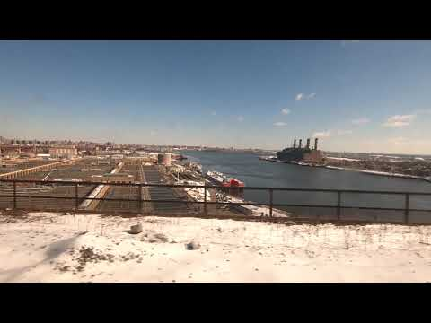 New York City, New York to Providence, Rhode Island - Amtrak Train Ride