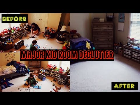 MAJOR TOY DECLUTTER | CLEAN MY SON'S ROOM WITH ME | CLEANING MOTIVATION