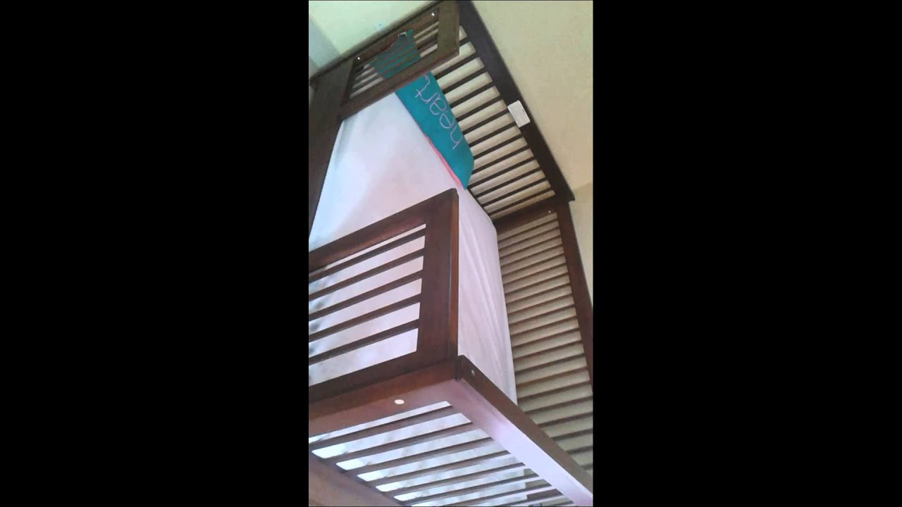Full Size Bed Converted To A Baby Crib Youtube