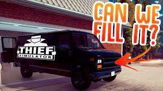 Can We Fill A Entire Van With Stolen Goods? - Criminal For Hire Jobs - Thief Simulator