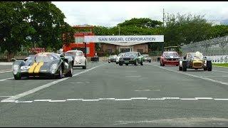 Historic racing by the manila sports car club - 1st leg 2014