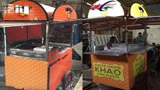 Gambar cover food cart in delhi,food cart manufacturer in delhi#Sai Structures India#SSI fOOD cARTS