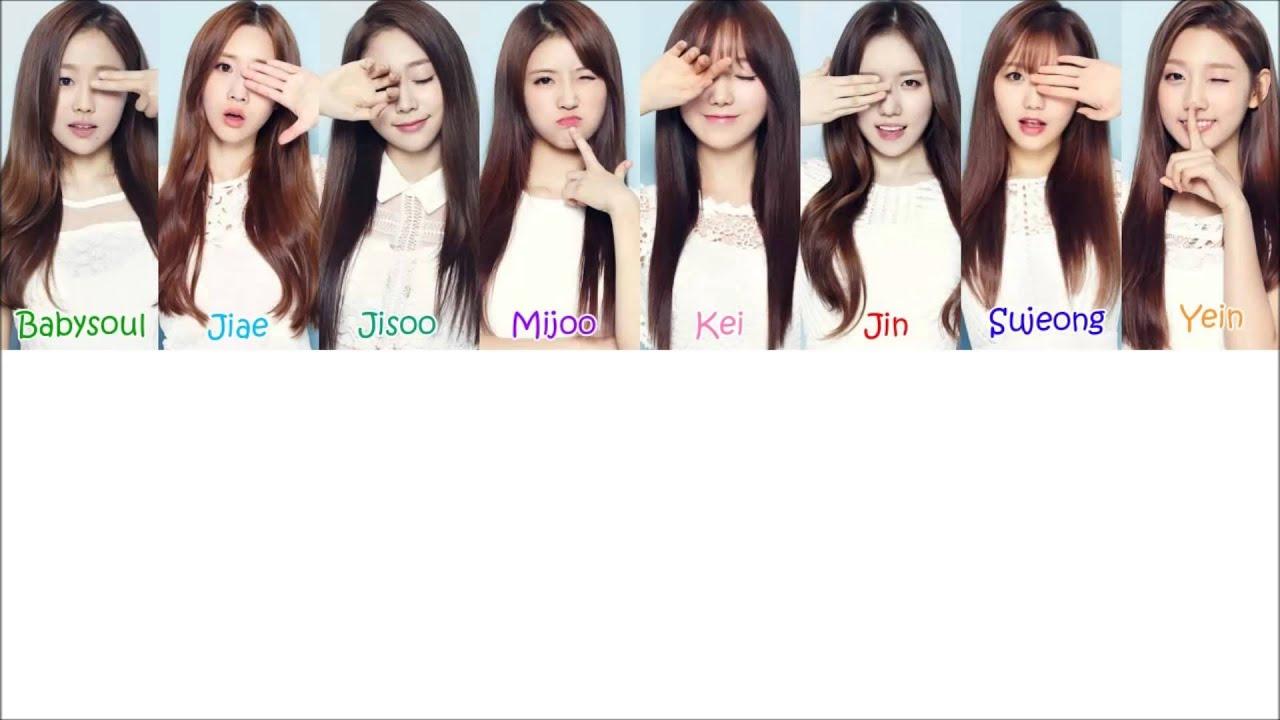 Oh My Girl Kpop Wallpaper Lovelyz Shooting Star 작별하나 Lyrics Youtube