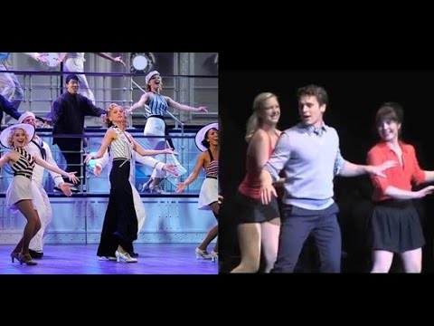 Sutton Foster & Jonathan Groff [Anything Goes]
