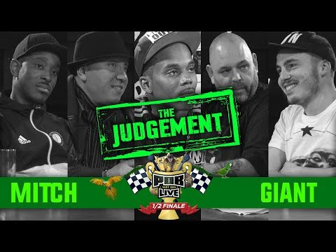 The Judgement: Mitch vs Giant 1/2 Finale Punchoutbattles Live 2015/2017