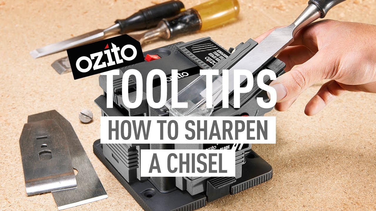 How to Sharpen Tools with the Multi Function Sharpener