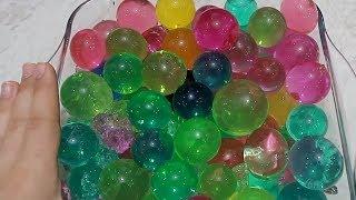 Jumbo Orbeez Bozduk, Çöplük Slime Yaptık WATER BALLS (orbeez) Bidünya Oyuncak
