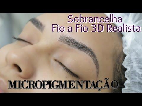 Micropigmentação de Sobrancelha Fio a Fio 3D - Passo a Passo