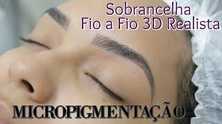 Gambar cover Micropigmentação de Sobrancelha Fio a Fio 3D - Passo a Passo