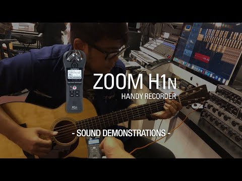 ZOOM H1N - Sound Demonstrations