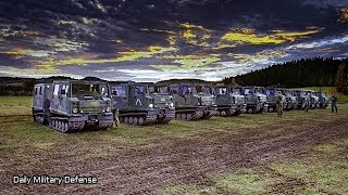 NATO Best in the World: Canadian Armed Forces Bandvagn convoy - TRIDENT JUNCTURE 18