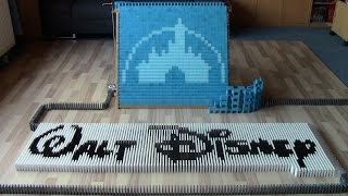 Walt Disney in 30,000 dominoes (collab with The Ocelot King) thumbnail