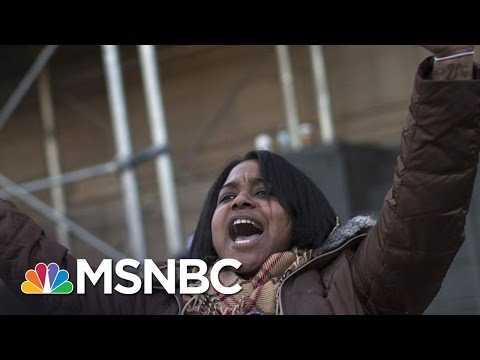 Daughter of Eric Garner Supports Bernie Sanders | MSNBC