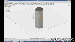 Autodesk Fusion 360. Project. Проецирование эскизов. 3D эскизы