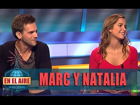 Buenafuente entrevista a Marc Clotet y Natalia Sánchez  En el aire