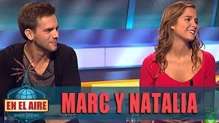 Buenafuente entrevista a Marc Clotet y Natalia Sánchez - En el aire