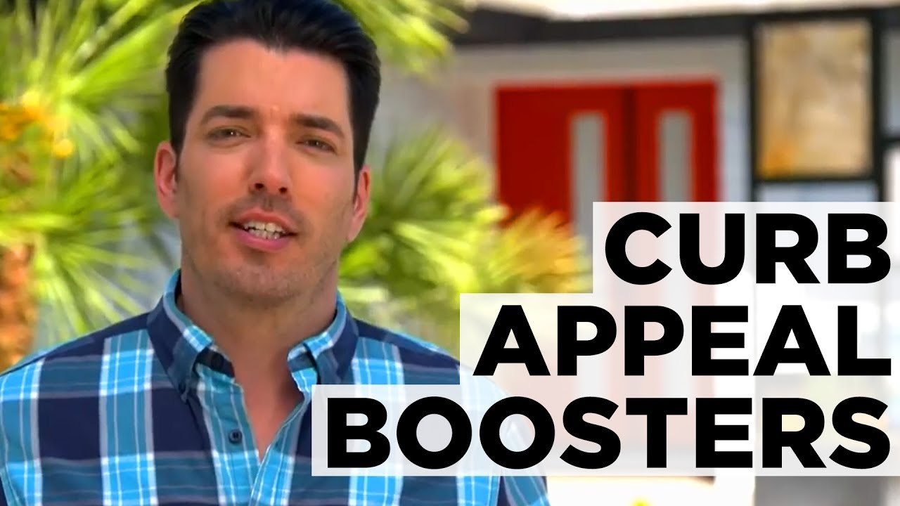 curb appeal tips from the property brothers hgtv youtube. Black Bedroom Furniture Sets. Home Design Ideas