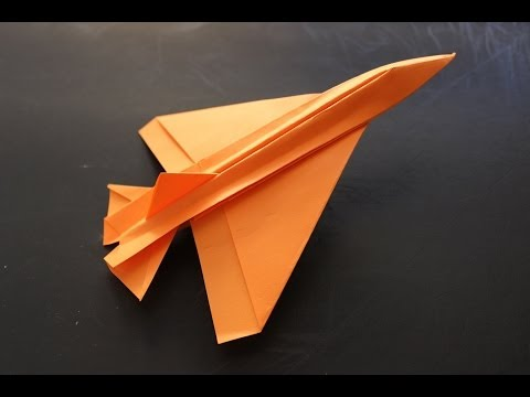 How to make a cool paper plane origami: instruction| De ... How To Make Cool Paper Airplanes