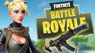 Fortnite Battle Royale: NEW  UPDATE! SILENCED SMG & AR BUFF! - Fortnite Battle Royale Gameplay - PS4 thumbnail