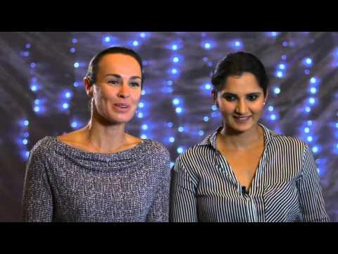 Martina Hingis & Sania Mirza   2015 WTA Finals Pre-Tournament Interview