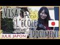 Comment venir etudier au Japon l'ecole de japonais 千駄ヶ谷語学学校-JULIE(japo…