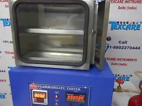 Flammability Tester FMVSS 302 for Interior Material Fire Safety