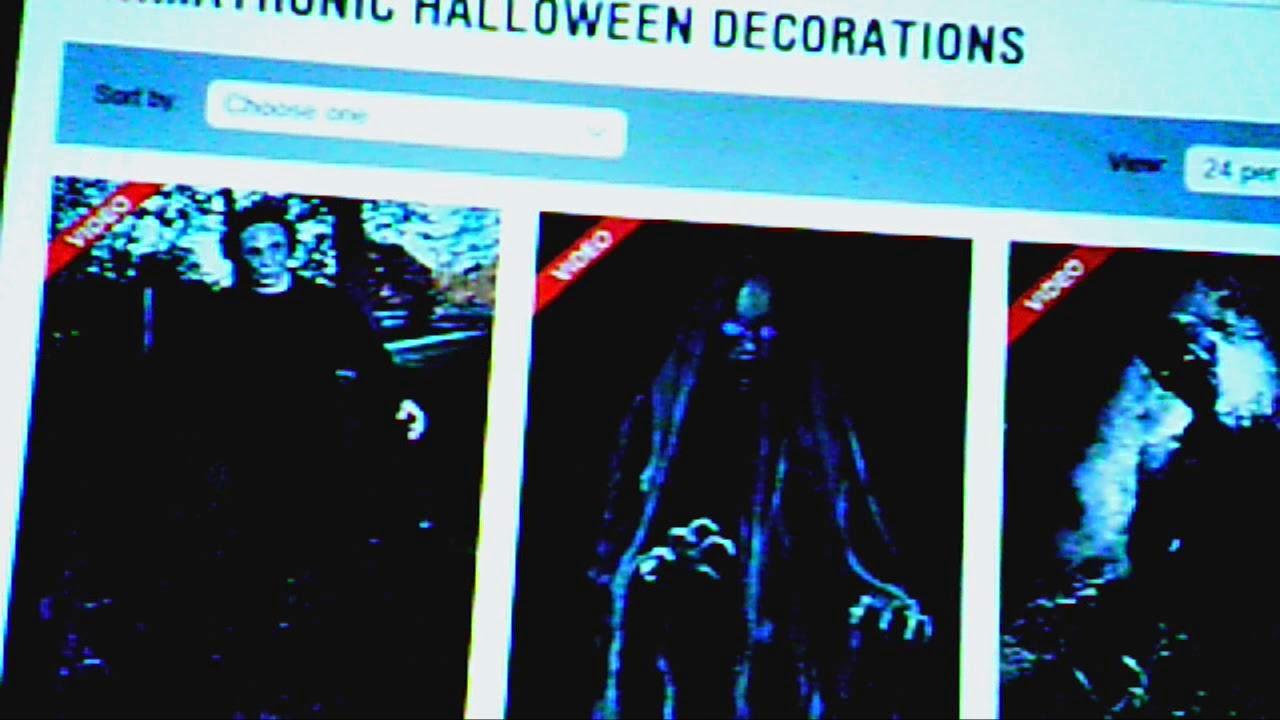6 Ft Michael Myers Animatronics Decorations Halloween H20