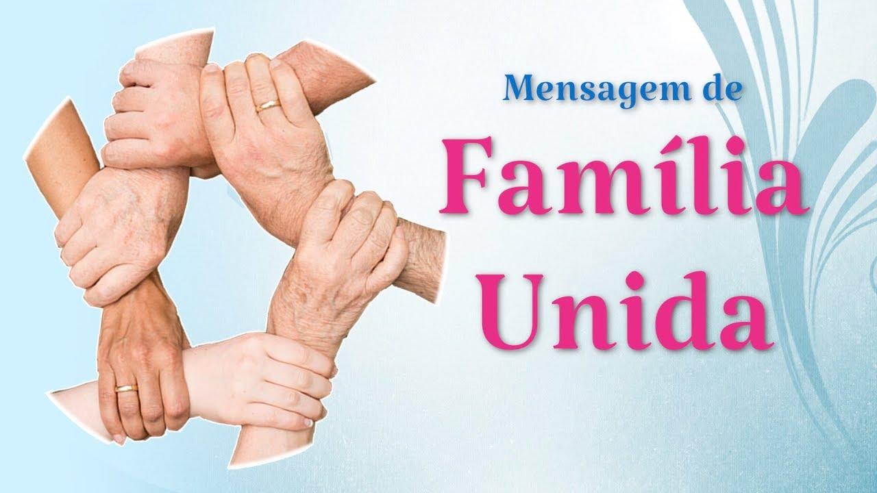Mensagem De Proteção A Familia Ud95: Mensagem Sobre Família Unida (Meu Refúgio, Minha Força