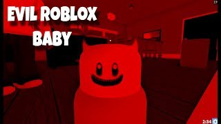 The Cutest Baby in Roblox turns into a Evil Baby.