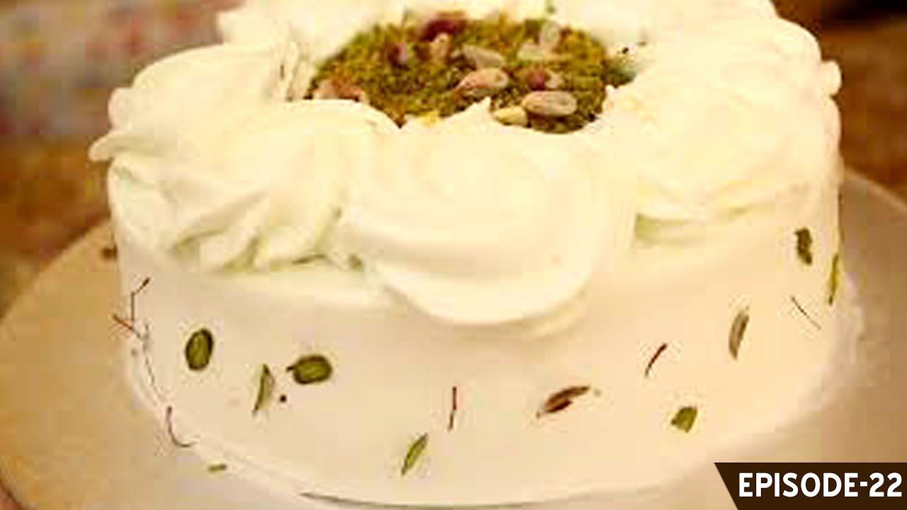 Learn how to make a unique eggkess pistachio, saffron & cardamom ...