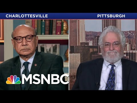 "Khizr Khan: President Donald Trump's ""Condemnation Of Violence"" Is Half-Hearted 