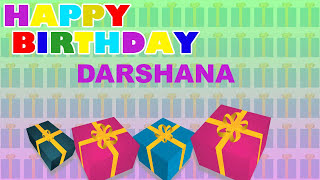 Darshana - Card Tarjeta_242 - Happy Birthday