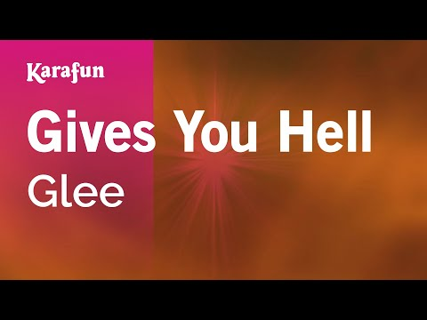 Karaoke Gives You Hell - Glee *