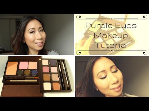 Purple Eyes Makeup Tutorial