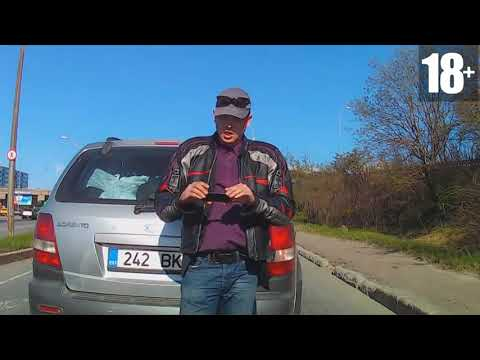 Неадекватные быдло водители #8
