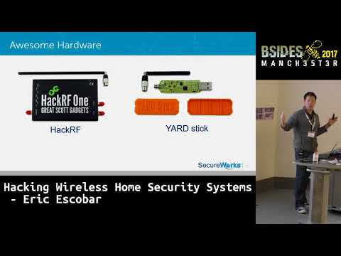 2017 - Hacking Wireless Home Security Systems by Eric Escobar