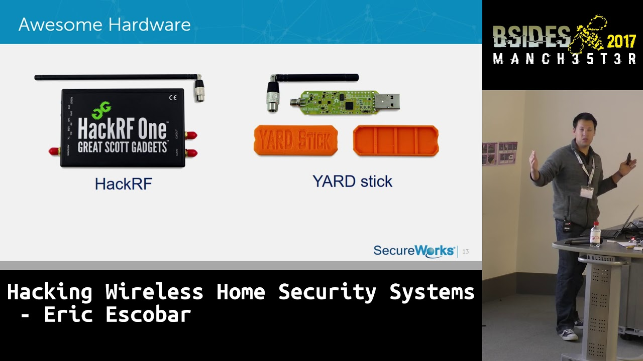 2017 Hacking Wireless Home Security Systems By Eric Escobar Youtube