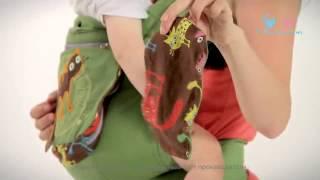 Інструкція з носіння рюкзака I Love Mum ''Класик''