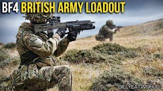 Battlefield 4 (PS4) - British Army Loadout - L85A2 w/ ACOG, UGL, Tac Light (BF4 Gameplay)
