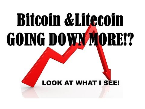 Bitcoin Litecoin Ethereum - More Downside As Far As I Can Tell - Here's Why!