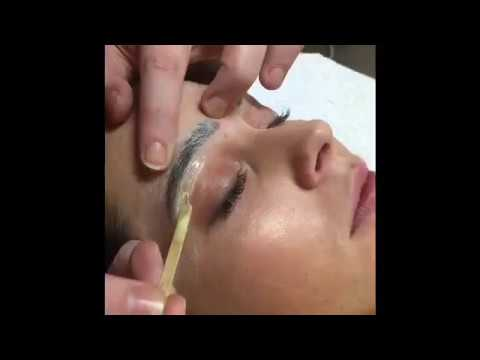 Henna Brow Application And Brow Sculpture Youtube