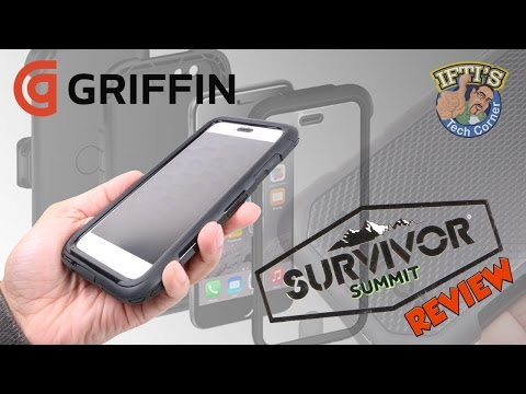 Griffin Survivor Summit - Seriously Rugged iPhone Case! : REVIEW