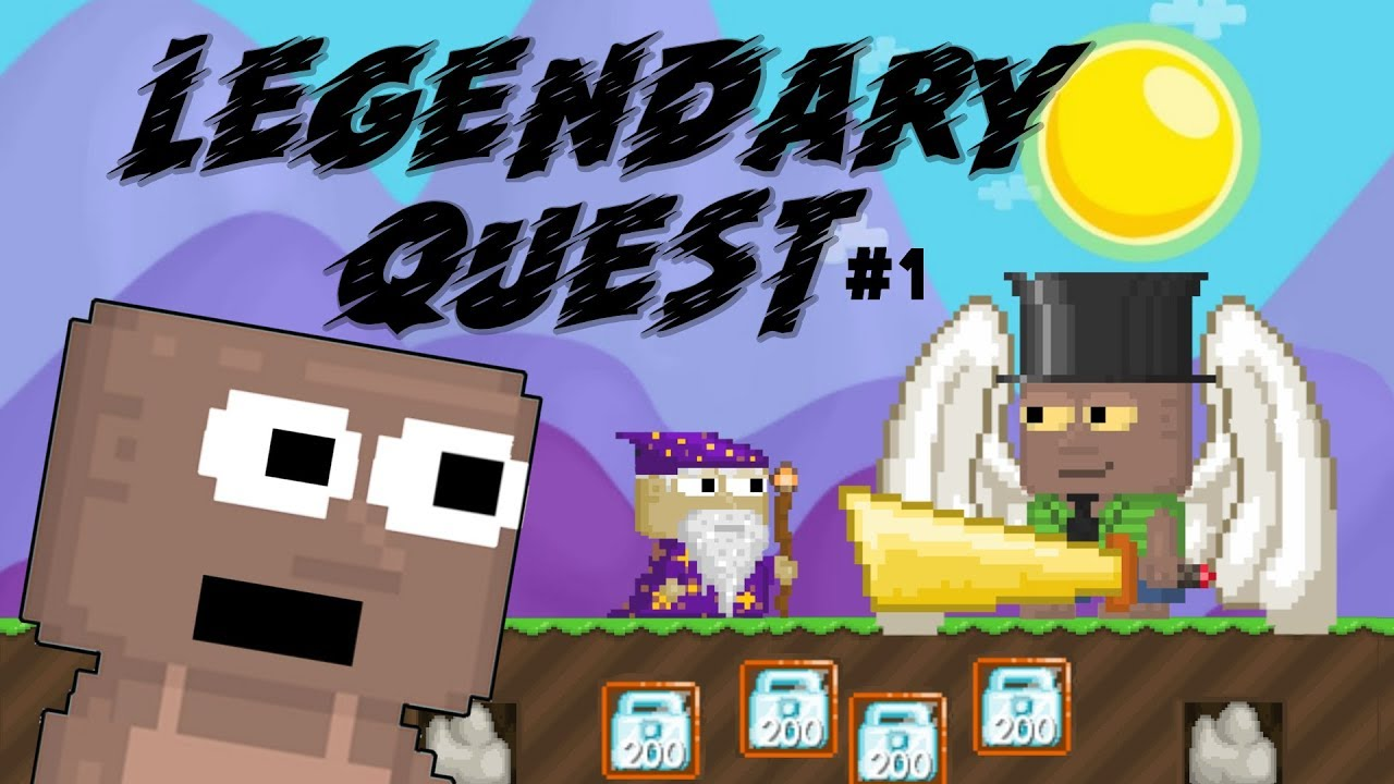Börjar Legendary Wings Quest #1(Svenska) | Growtopia
